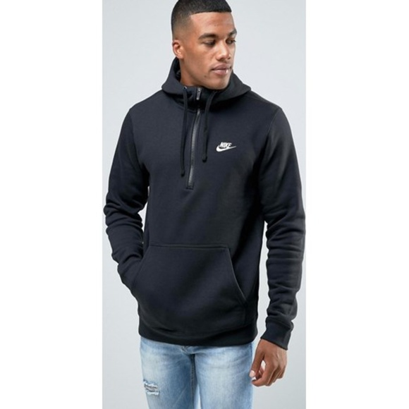 0a26fc58c63c Nike Club Swoosh Half-Zip Hoodie XL 812519-010
